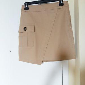 Dynamite kakhi chinos skirt(2 for 30)